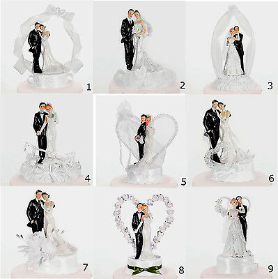 Wedding Cake Toppers - Romantic and Original Eye Catching by Low Cost Designs