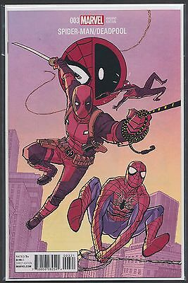 Spider-Man/deadpool #3 1:25 Variant Cliff Chiang Cover