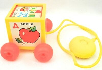 Vintage Fisher Price Peek A Boo Block