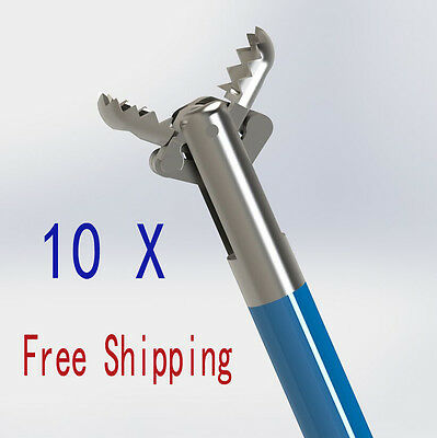 Alligator Jaw Top 10PCs Great Quality and Price Sizes Disposable Biopsy Forceps