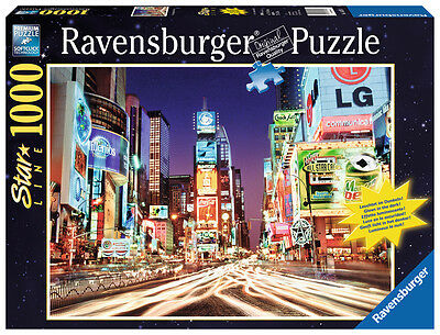 Ravensburger 16074 - Time Square, New York 1000 Teile Starline Puzzle