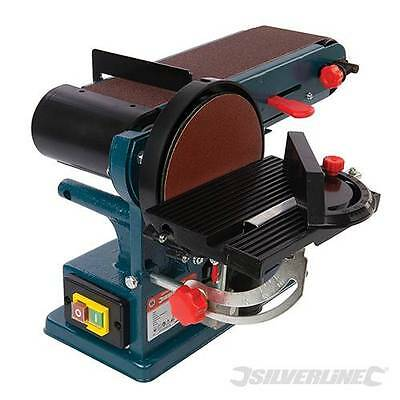 Heavy Duty 350W Bench Belt & Disc Sander 390mm Sander Sanding  3 Year Warranty