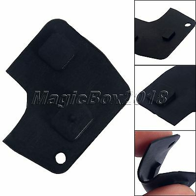 Replacement Car Key Shell Case Switch Rubber Pad 2 Button Remote Key  For Toyota