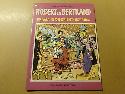 STRIP / ROBERT EN BERTRAND 45: DRAMA IN DE ORIENT-EXPRESS | 1ste druk