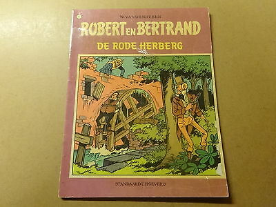 STRIP / ROBERT EN BERTRAND 5: DE RODE HERBERG | 1ste druk