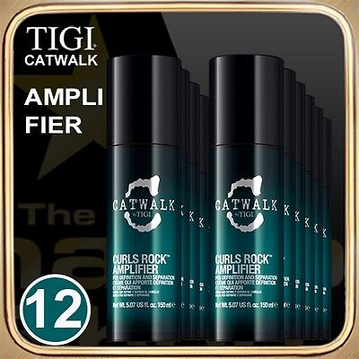 CURLS ROCK AMPLIFIER (150ml) CATWALK TIGI Set of 12