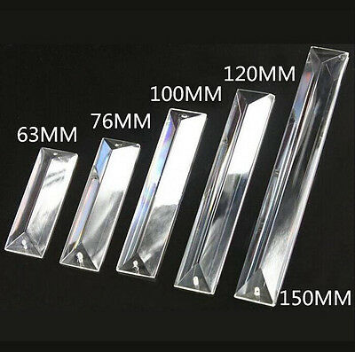 Exquisite Various size Triangle Article Clear Decoration Crystal chandelier part