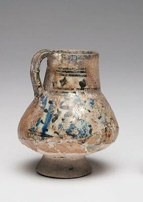 Ancient Islamic Persian Ceramic Jug c.1200 AD. Islamic Ceramic 1200 A.D.