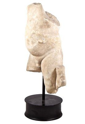 Ancient Roman marble torso of an infant Or Eros C.1st Century AD