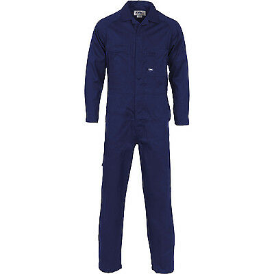 DNC Lightweight Cool-Breeze Cotton Drill Coverall & Dust Coats (3104)