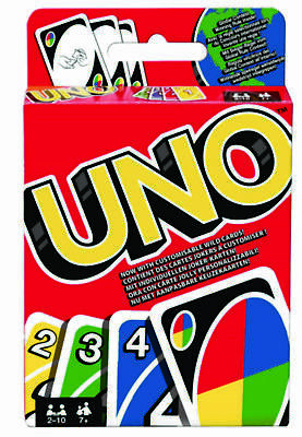 """UNO CARDS- Original -Family Fun Playing Card Game – by Mattel  """"TOP QUALITY"""""""