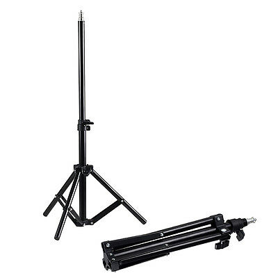 Studio Photography Light Flash Stand Foldable Support Tripod Softbox Umbrella