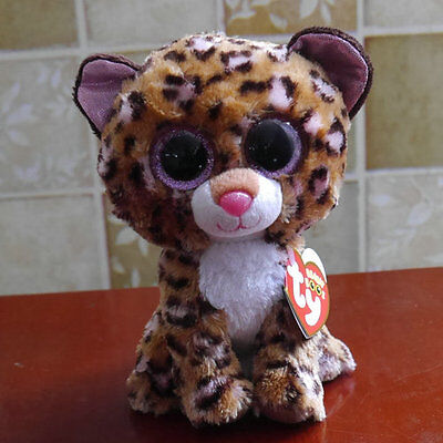 new ty beanies boos Leopard Patches stuffed animal toy