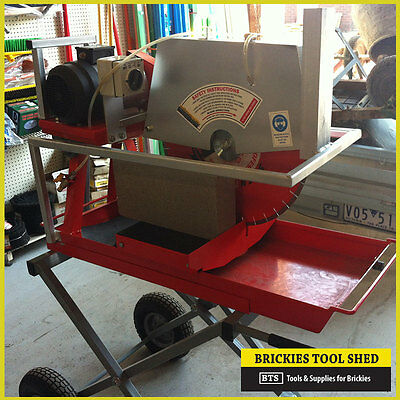 "Bts Brick Saw Block Saw, Comes With 20"" Blade, Electric Motor, Heavy Duty - New"