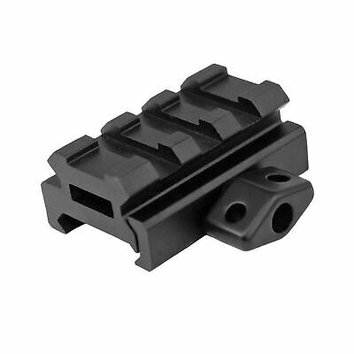 """UTG 0.5"""" High 3-Slot Low-Profile Compact Riser Mount - Weaver Montageerhöhung"""