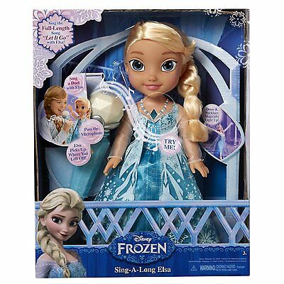 Frozen Sing-a-Long with Elsa KIDS FUN INTERACTIVE TOY GIFT IDEA BRAND NEW