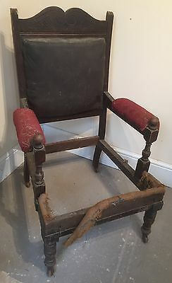 Vintage Upholstery Project Arm Chair