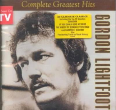 Gordon Lightfoot - The Complete Greatest Hits New Cd