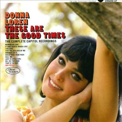 Donna Loren - These Are The Good Times: The Complete Capitol Recordings * New Cd