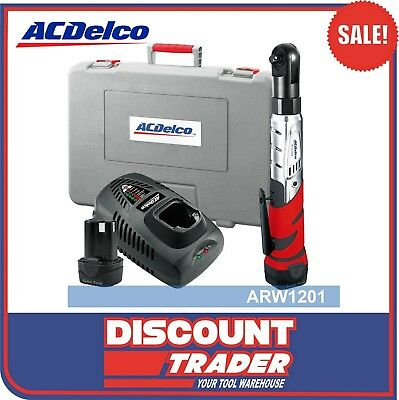 """ACDelco Pro Li-ion 10.8V 3/8"""" Drive Ratchet Wrench 57 ft-lbs (78 Nm) - ARW1201"""