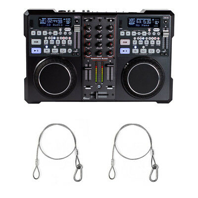 American DJ ENCORE 2000 MP3/CD Player/2-Channel Mixer System with 2 Harnesses