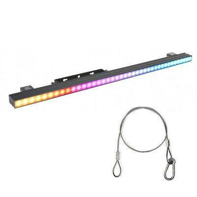 American DJ PIXEL BAR 12 3-in-1 SMD LED Strip Light Fixture with Safety Harness