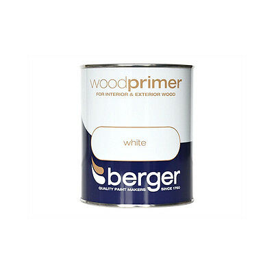 Wood Primer White 750ml 5089641