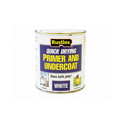 Quick Dry Primer and Undercoat White 250ml