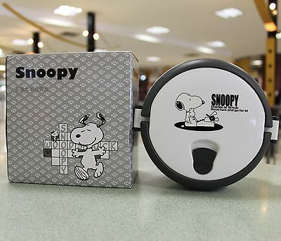 Snoopy Round Food Snack Container Lunch Box Storage