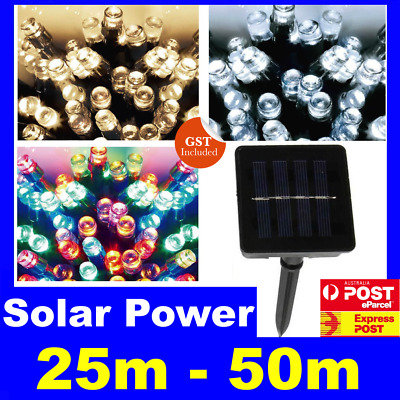 Waterproof Solar Power String Fairy Lights Outdoor XMAS Party