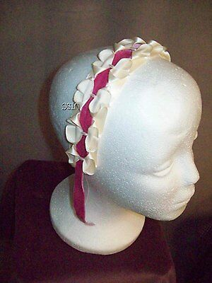 Civil War reenactor ladies day cap head piece ships FREE in USA