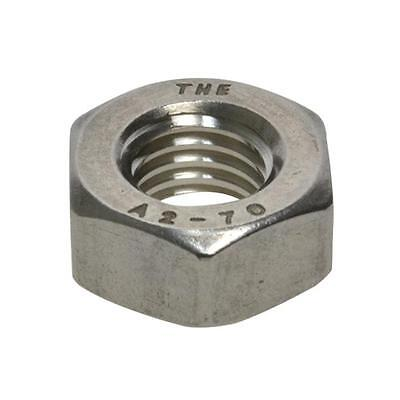 Qty 10 Hex Standard Nut M7 (7mm) Stainless Steel SS 304 A2 70