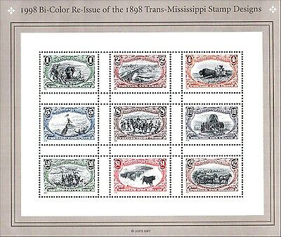 1898 Trans-Mississippi Cent. Sheet Scott 3209 MNH Combined Shipping
