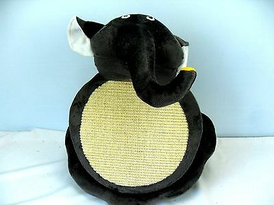 Ancol Acticat Elephant Tubby Activity Centre Cat Kitten Scratcher with Catnip