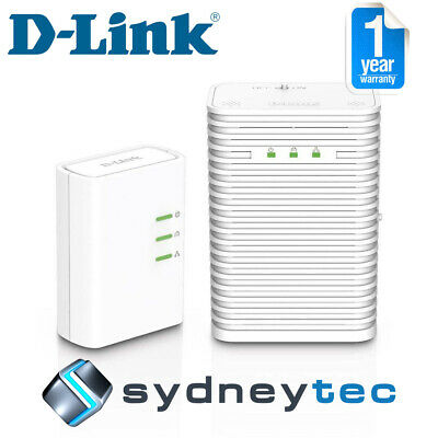 New D-Link DHP-W313AV PowerLine AV500 Wireless AC600 Starter Kit