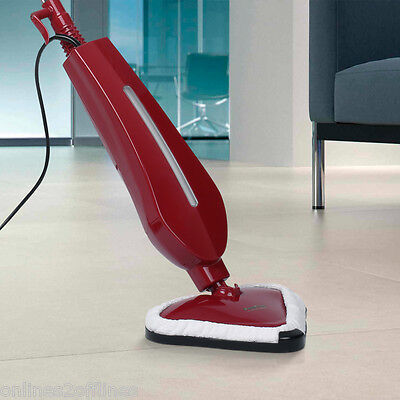 1300W Electric LED Steam Cleaner Mop Floor Blanket Cleaning Home Kitchen Bedroom