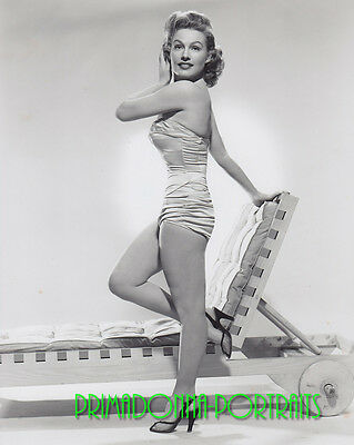 d584fd54460 GALE ROBBINS 8X10 Lab Photo 1953 Sexy Slinky Costume, Shimmering Babe  Portrait