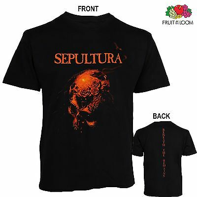 SEPULTURA-Beneath the Remains-Brazilian heavy metal band ,T_shirt-SIZES:S to 6XL
