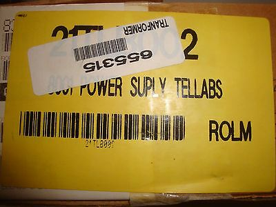 Tellabs Power Supply 8001 switchable 24 or 48 Vdc 1A - NEW