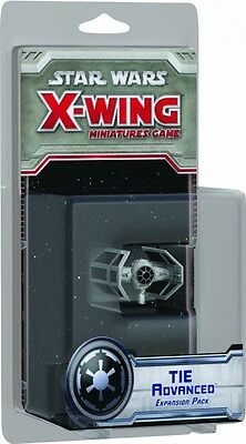 Star Wars X-Wing Tie Advanced X Wing Expansion Pack Fantasy Flight Games