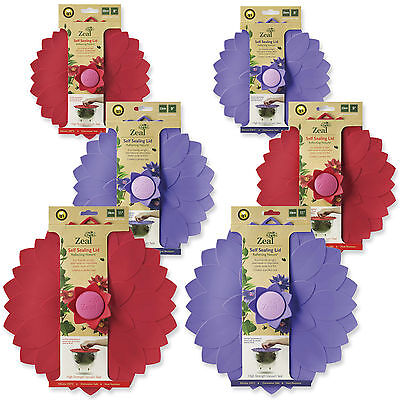Zeal Reflecting Nature Petal Self Sealing Lids - For Bowls & Pans