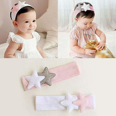 Cute Kids Girl Baby Toddler Star Headband Headwear Hair Band Accessories New