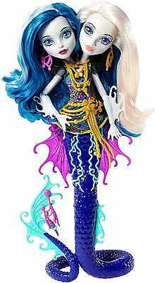 Monster High Great Scarrier Reef Peri and Pearl Serpentine Doll GIFT IDEA *NEW*