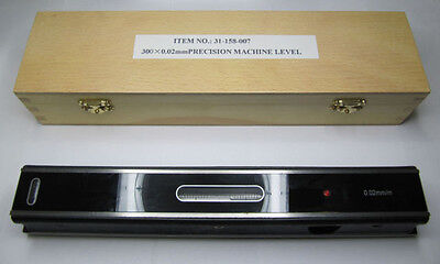 Rdgtools 250Mm Precision Engineers Level 0.02Mm/m Accuracy In Wooden Box