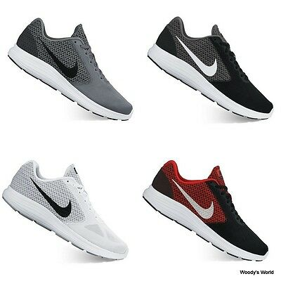 Nike Revolution 3 Men's Running Shoes Sneakers Runners Trainers NEW!!!
