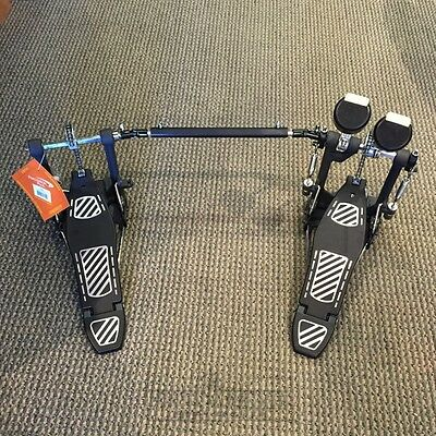 Percussion Plus Double Bass Pedal with Free Bag!