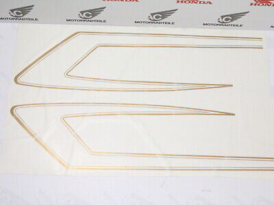 Honda CB750 Four F2 SuperSport Tankzierstreifen Gold Decal Stripes Kit Fuel Tank
