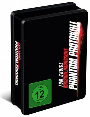 Mission: Impossible Phantom Protokoll - Steelbook + Zippo + T-Shirt BLU-RAY-NEU
