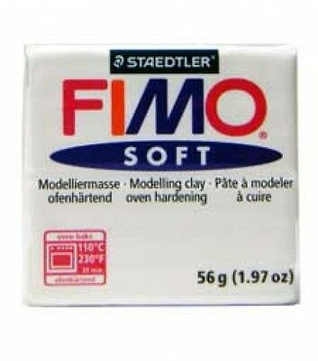 Fimo Soft White Number 0