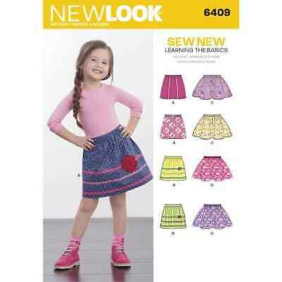 Simplicity New Look Sewing Pattern Skirts 6409